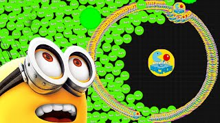 Agario Epic Winning Funny Minion Trolling Agar.io Experimental Mode  Funny Moments!