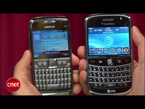 BlackBerry Bold vs. Nokia E71