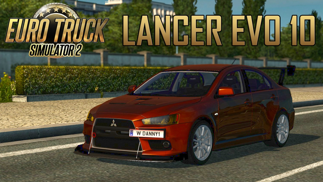 Car Simulator Games >> ETS2 Mitsubishi Lancer Evolution 10 Car Mod (Euro Truck ...