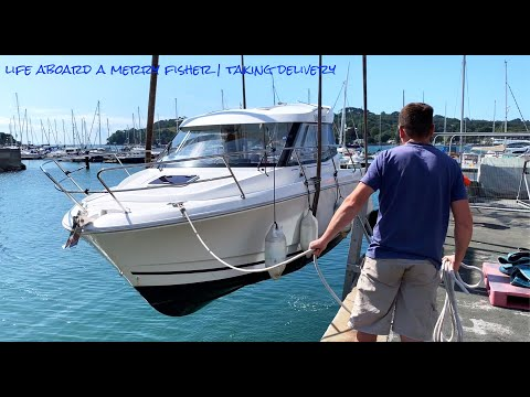 Life Aboard A Merry Fisher 755 | Picking Up From Plymouth