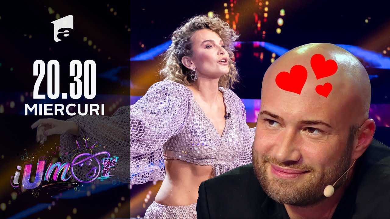 Anna Lesko a venit cu un roast senzual la iUmor, iar Mihai s-a pierdut când a văzut-o | iUmor 2021