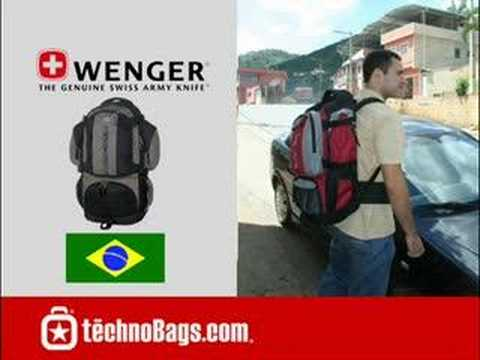 Swiss Gear Wenger BERGEN Internal Frame Backpack - YouTube