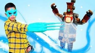 Игры для мальчиков с Бен 10 – Герои Омнитрикс vs Стим Смит!