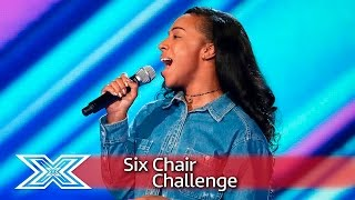 Jordina Miller makes her bid for a Chair | Six Chair Challenge | The X Factor UK 2016
