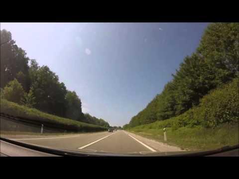 [Roadtrip 1 - France] N83 - D467 - D472: Besançon to Salins-les-Bains | 15.08.2015