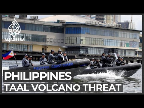 Philippine volcano: Taal still a threat but fishermen still flock