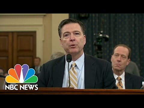 James Comey Confirms FBI Investigating Any Links Between Russia, Trump Campaign | NBC News