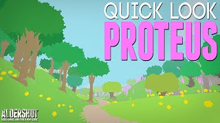 Proteus: Quick Look (indie game open world gameplay and review)