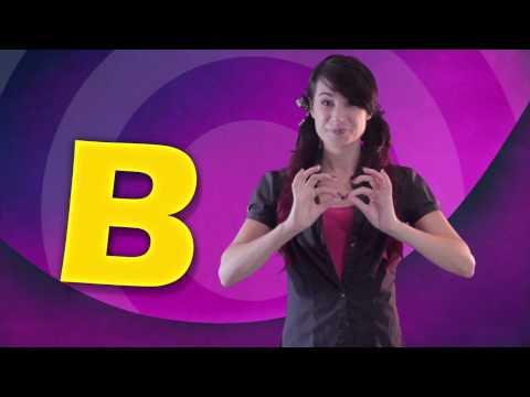 Itty Bitty Stars - Learn the Alphabet - Auslan Signs