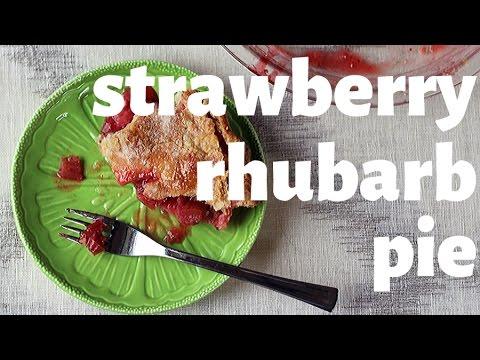 Strawberry Rhubarb Pie - City Cookin'