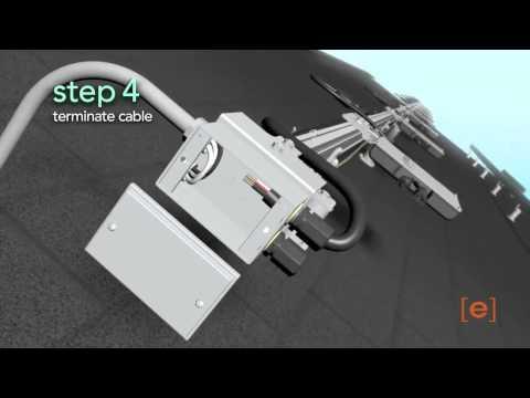 Spanish: Enphase M215 Installation Animation