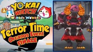 Yo-Kai Watch Wibble Wobble - Orcanos Terror Time Crank-a-Kai Party FINALE! [iOS Android Gameplay]
