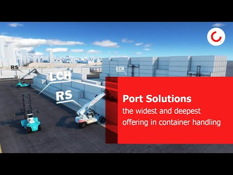 Konecranes Port Solutions: the widest and deepest offering in container handling