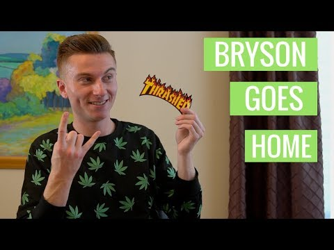 Bryson Goes Home For Thanksgiving