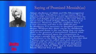 Sayings of Promised Messiah: Al Hakam
