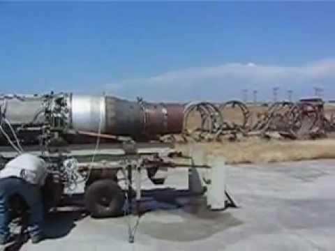 SKYHAWK A-4C AERO TURBINES ENGINE TESTING