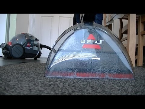 Bissell Hydroclean Complete Carpet & Upholstery Deep Cleaning Demonstration