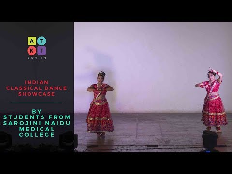 Indian Classical Dance Showcase by Students from Sarojini Naidu Medical College | Pulse 2017