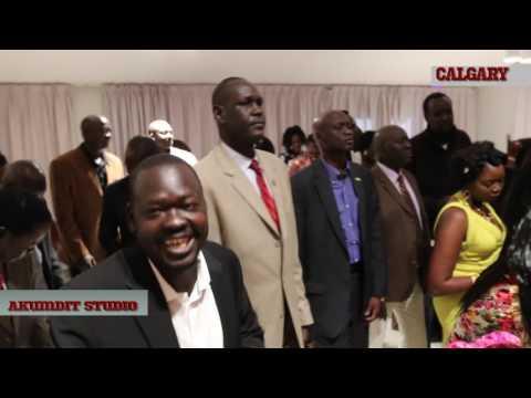 H. E. Amb Garang Visited to  Calgary Canada Sept 3,2016 - Part 1