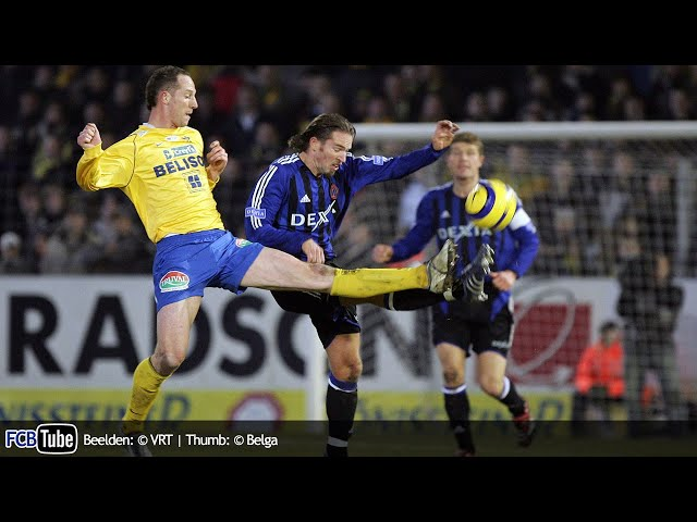 2005-2006 - Jupiler Pro League - 22. Sint-Truiden - Club Brugge 2-2