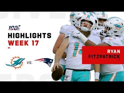 FitzMagic's LEGENDARY Performance vs. Patriots | NFL 2019 Highlights