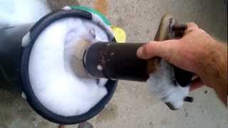 Catalytic converter. Cleaning