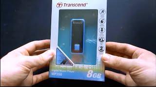 Transcend MP350 8GB Blue Unboxing