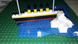Мини фильм Титаник / Lego Titanic