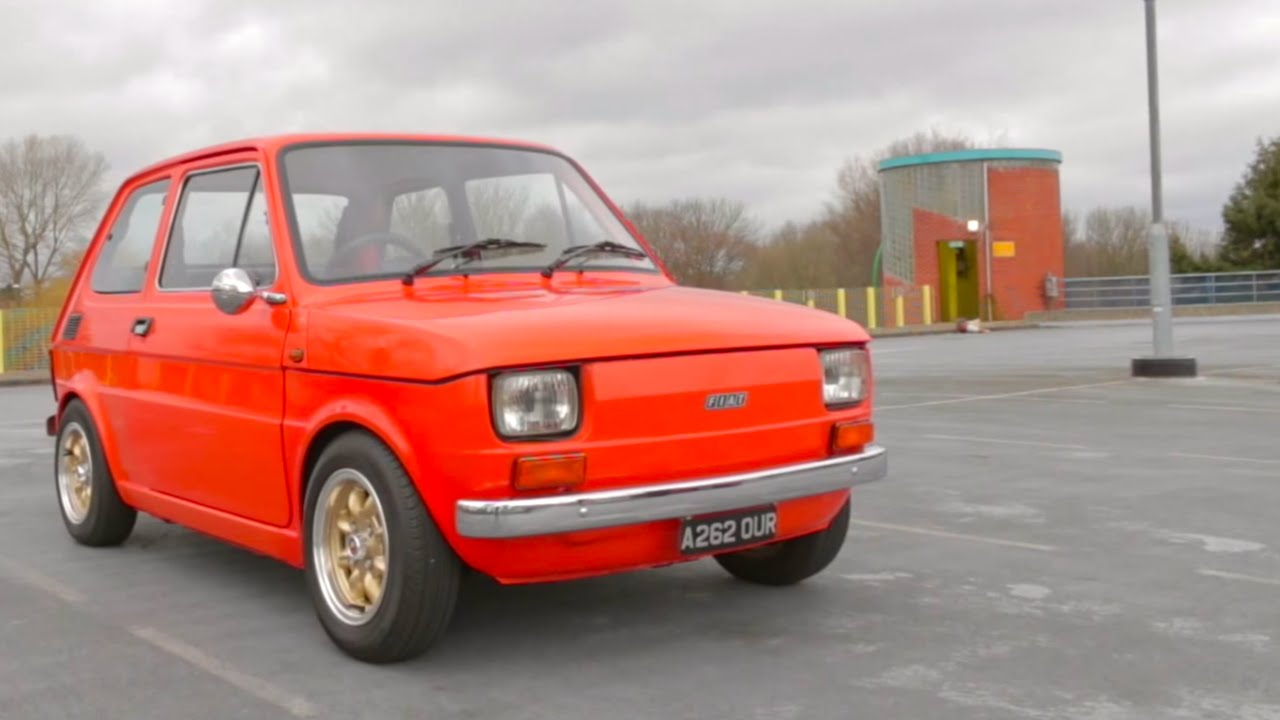 Rare Finds Fiat 126 Abarth Owned By Top Gear S Chris