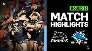 Panthers v Sharks | Round 15 2020 | Telstra Premiership | NRL