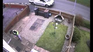 Amazon UK postal carrier caught stealing on CCTV