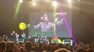 """Achievement Hunter/Funhaus - """"Smash Mouth - All Star"""" - Let's Play Live Orlando"""