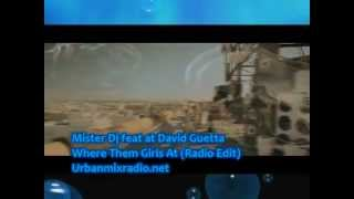 Mister Dj feat at David Guetta - Where Them Girls At (Radio Edit)