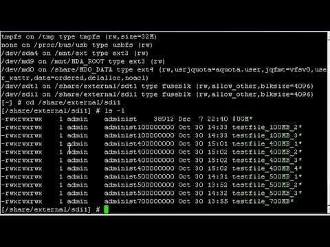 QNAP: UFSD vs NTFS-3G