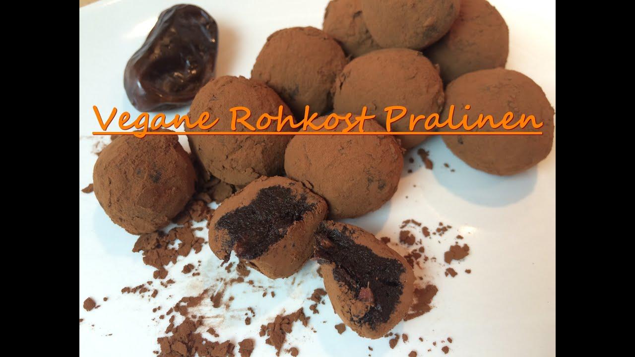 vegane pralinen rezept kakaobutter