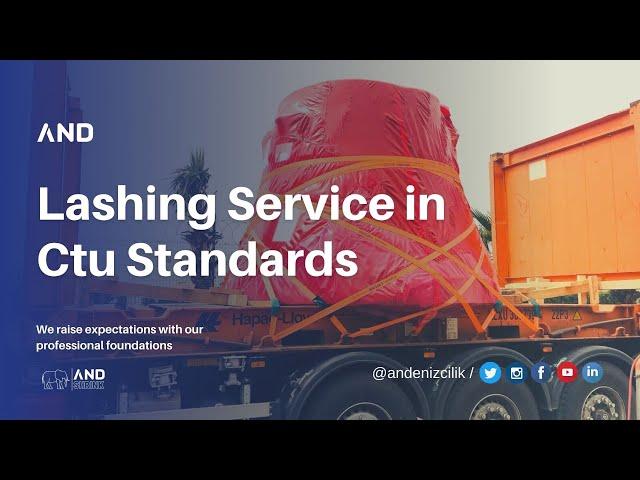 ANDENIZCILIK A.S. | Cargo Project & Lashing Service