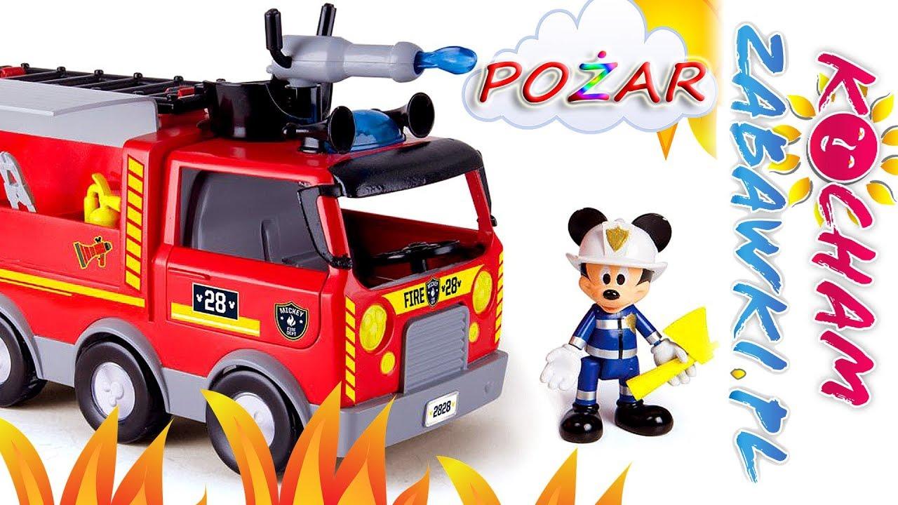 Mickey Mouse • Na ratunek Minnie • Pożar w salonie fryzjerskim • Disney • bajki po polsku