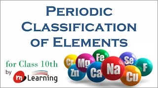 Periodic Classification of Elements for X Standard