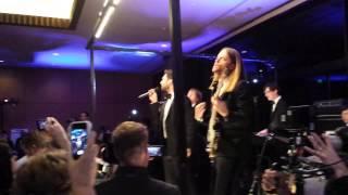 """Maroon 5 """"Sugar"""" 12-6-14 (shot by a wedding guest)"""