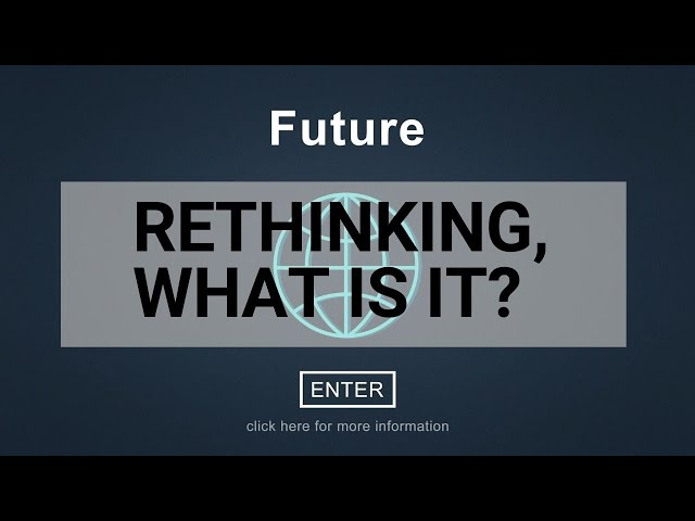 An Introduction to ReThinking with Derek Cheshire and Scott McArthur - Innovation Wise