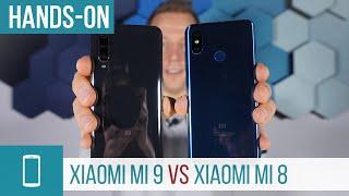 Xiaomi Mi 9 vs Mi 8 Smartphone Vergleich - wer macht das Rennen?