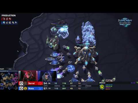 Serral vs. Stats | Starcraft II WCS Global Grand Finals| BlizzCon 2018