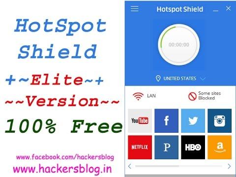 hotspot shield elite new version free download