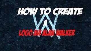 So Erstellen Sie ein Logo AW ( Alan Walker ) Auf Android