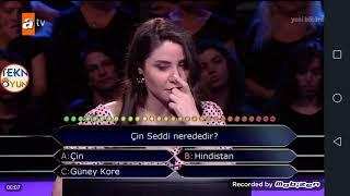 """Kim Milyoner Olmak İster? Yarışmasında """"Çin Seddi nerededir?"""" Sorusunda 2 Joker Kullanan Yarışmacı"""