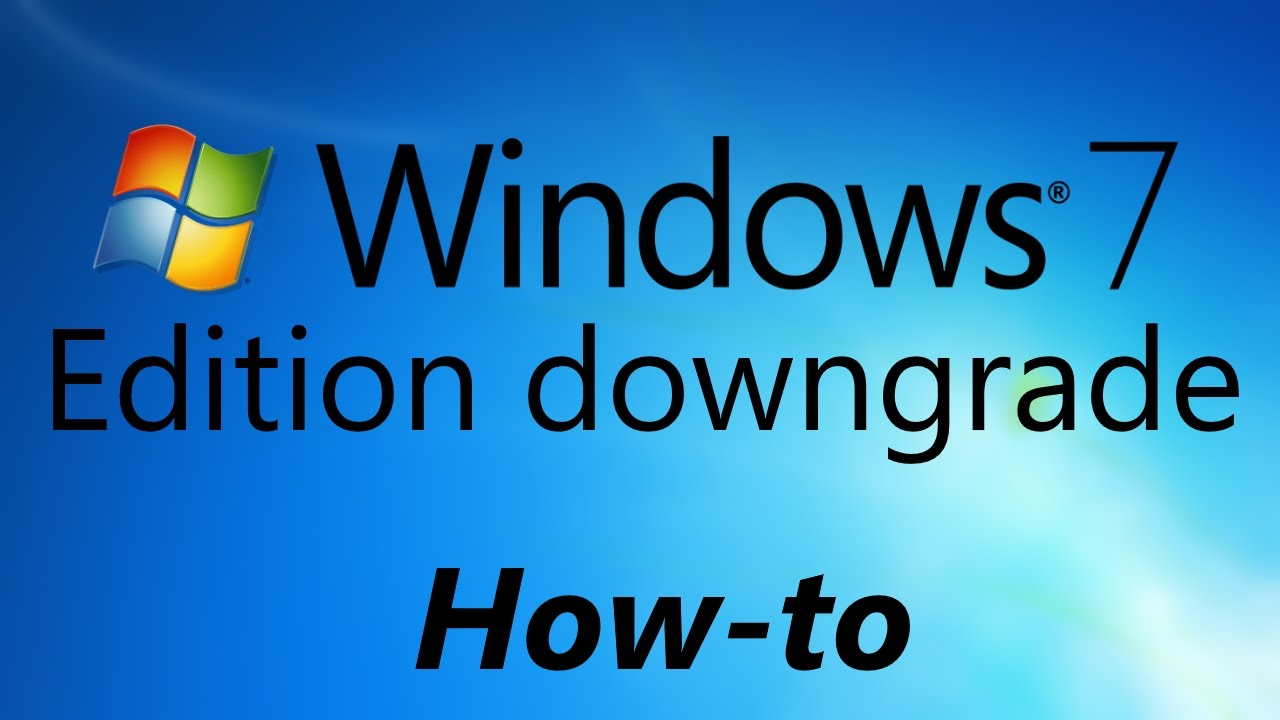 downgrade windows 64 bit to 32 bit