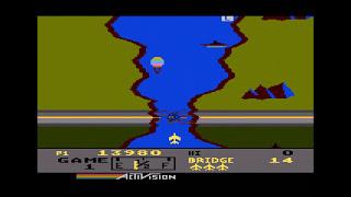 River Raid Atari 5200 longplay