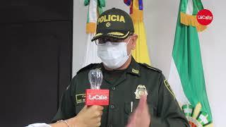 Coronel de la Policía del Cesar, Jesús Manuel de Los Reyes, dio el balance en materia de seguridad