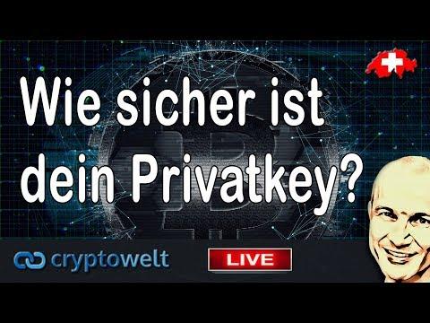 Privat Key Bitcoin - Wie sicher ist dein Privatkey?