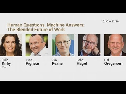 DAY01   03   Human Questions Machine Answers The Blended Future of Work